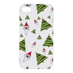 Christmas Santa Claus Decoration Apple Iphone 4/4s Hardshell Case by BangZart