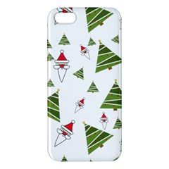 Christmas Santa Claus Decoration Apple Iphone 5 Premium Hardshell Case by BangZart