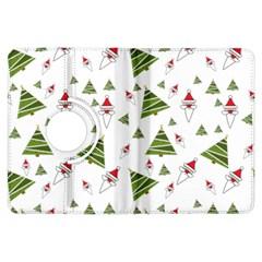 Christmas Santa Claus Decoration Kindle Fire Hdx Flip 360 Case by BangZart