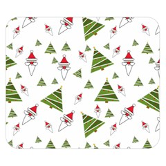 Christmas Santa Claus Decoration Double Sided Flano Blanket (small)  by BangZart