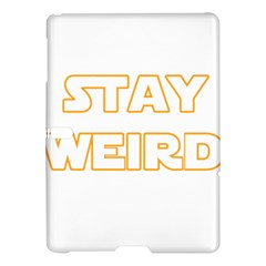 Stay Weird Samsung Galaxy Tab S (10 5 ) Hardshell Case  by Valentinaart