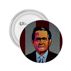 George W Bush Pop Art President Usa 2 25  Buttons