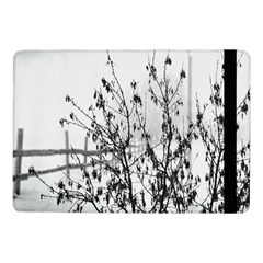 Snow Winter Cold Landscape Fence Samsung Galaxy Tab Pro 10 1  Flip Case by BangZart