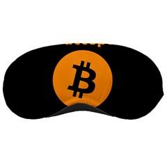 I Accept Bitcoin Sleeping Masks by Valentinaart