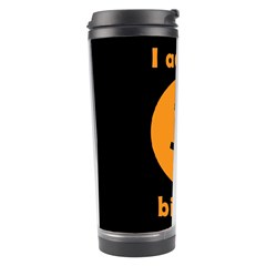 I Accept Bitcoin Travel Tumbler by Valentinaart