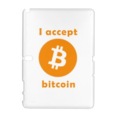 I Accept Bitcoin Galaxy Note 1 by Valentinaart