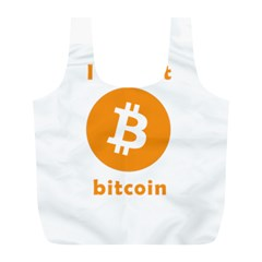 I Accept Bitcoin Full Print Recycle Bags (l)  by Valentinaart