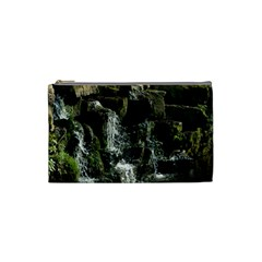 Water Waterfall Nature Splash Flow Cosmetic Bag (small)