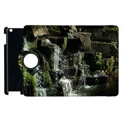 Water Waterfall Nature Splash Flow Apple Ipad 3/4 Flip 360 Case by BangZart