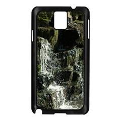 Water Waterfall Nature Splash Flow Samsung Galaxy Note 3 N9005 Case (black) by BangZart