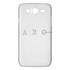 Taboo Samsung Galaxy Mega 5 8 I9152 Hardshell Case  by Valentinaart