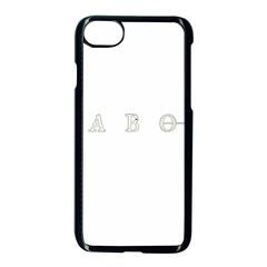 Taboo Apple Iphone 7 Seamless Case (black) by Valentinaart
