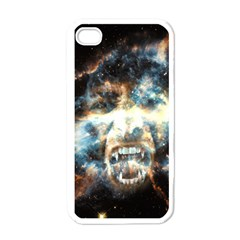 Universe Vampire Star Outer Space Apple Iphone 4 Case (white)
