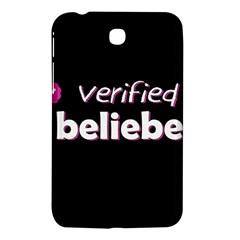 Verified Belieber Samsung Galaxy Tab 3 (7 ) P3200 Hardshell Case  by Valentinaart