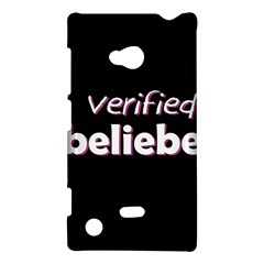 Verified Belieber Nokia Lumia 720 by Valentinaart