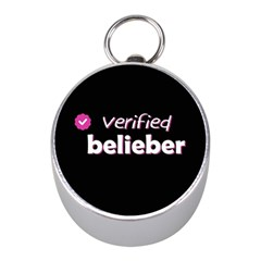 Verified Belieber Mini Silver Compasses by Valentinaart