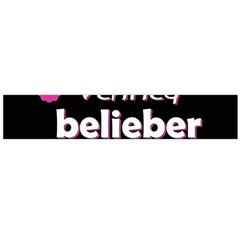 Verified Belieber Large Flano Scarf  by Valentinaart