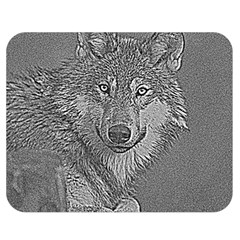 Wolf Forest Animals Double Sided Flano Blanket (medium)  by BangZart