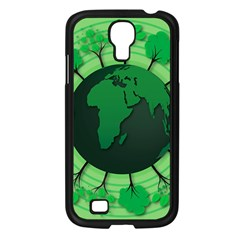 Earth Forest Forestry Lush Green Samsung Galaxy S4 I9500/ I9505 Case (black) by BangZart