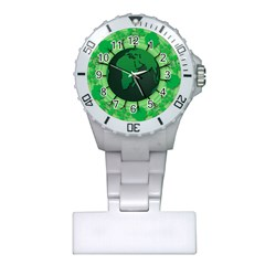 Earth Forest Forestry Lush Green Plastic Nurses Watch by BangZart
