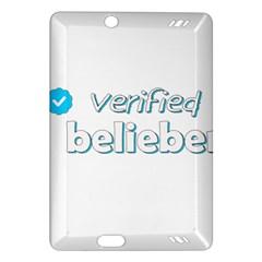 Verified Belieber Amazon Kindle Fire Hd (2013) Hardshell Case by Valentinaart