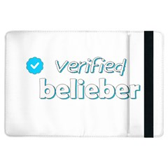 Verified Belieber Ipad Air Flip by Valentinaart