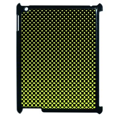 Pattern Halftone Background Dot Apple Ipad 2 Case (black) by BangZart