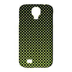 Pattern Halftone Background Dot Samsung Galaxy S4 Classic Hardshell Case (pc+silicone) by BangZart