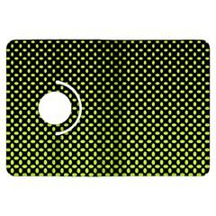 Pattern Halftone Background Dot Kindle Fire Hdx Flip 360 Case by BangZart