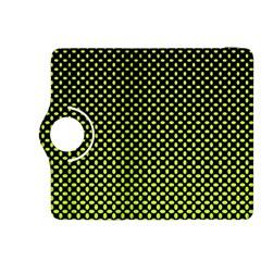 Pattern Halftone Background Dot Kindle Fire Hdx 8 9  Flip 360 Case by BangZart
