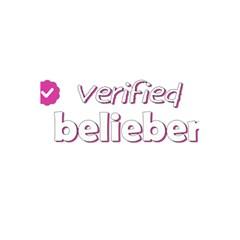 Verified Belieber 5 5  X 8 5  Notebooks by Valentinaart