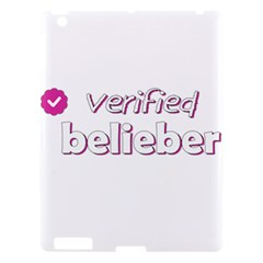 Verified Belieber Apple Ipad 3/4 Hardshell Case by Valentinaart