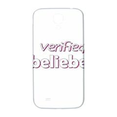 Verified Belieber Samsung Galaxy S4 I9500/i9505  Hardshell Back Case by Valentinaart