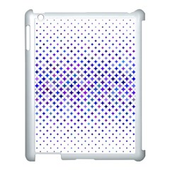 Star Curved Background Geometric Apple Ipad 3/4 Case (white) by BangZart