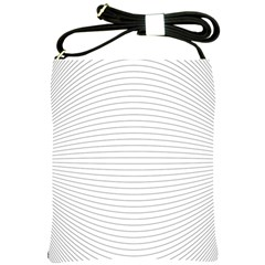 Pattern Background Monochrome Shoulder Sling Bags by BangZart