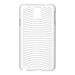 Pattern Background Monochrome Samsung Galaxy Note 3 N9005 Case (white)