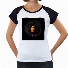 Medusa Women s Cap Sleeve T by Valentinaart