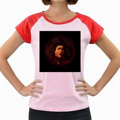 Medusa Women s Cap Sleeve T Shirt by Valentinaart
