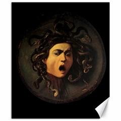 Medusa Canvas 8  X 10  by Valentinaart