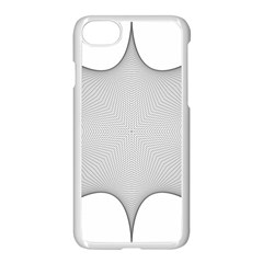 Star Grid Curved Curved Star Woven Apple Iphone 7 Seamless Case (white) by BangZart
