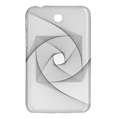 Rotation Rotated Spiral Swirl Samsung Galaxy Tab 3 (7 ) P3200 Hardshell Case