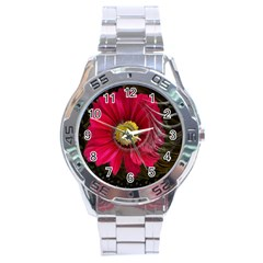 Fantasy Flower Fractal Blossom Stainless Steel Analogue Watch by BangZart