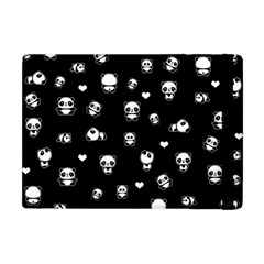 Panda Pattern Apple Ipad Mini Flip Case by Valentinaart
