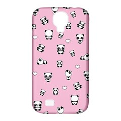 Panda Pattern Samsung Galaxy S4 Classic Hardshell Case (pc+silicone) by Valentinaart