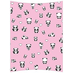 Panda Pattern Back Support Cushion by Valentinaart