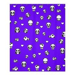 Panda Pattern Shower Curtain 60  X 72  (medium)  by Valentinaart