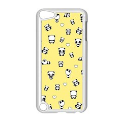Panda Pattern Apple Ipod Touch 5 Case (white) by Valentinaart