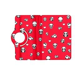Panda Pattern Kindle Fire Hd (2013) Flip 360 Case by Valentinaart