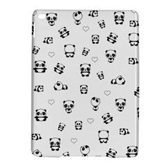 Panda Pattern Ipad Air 2 Hardshell Cases by Valentinaart