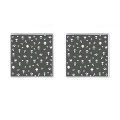 Panda Pattern Cufflinks (square) by Valentinaart